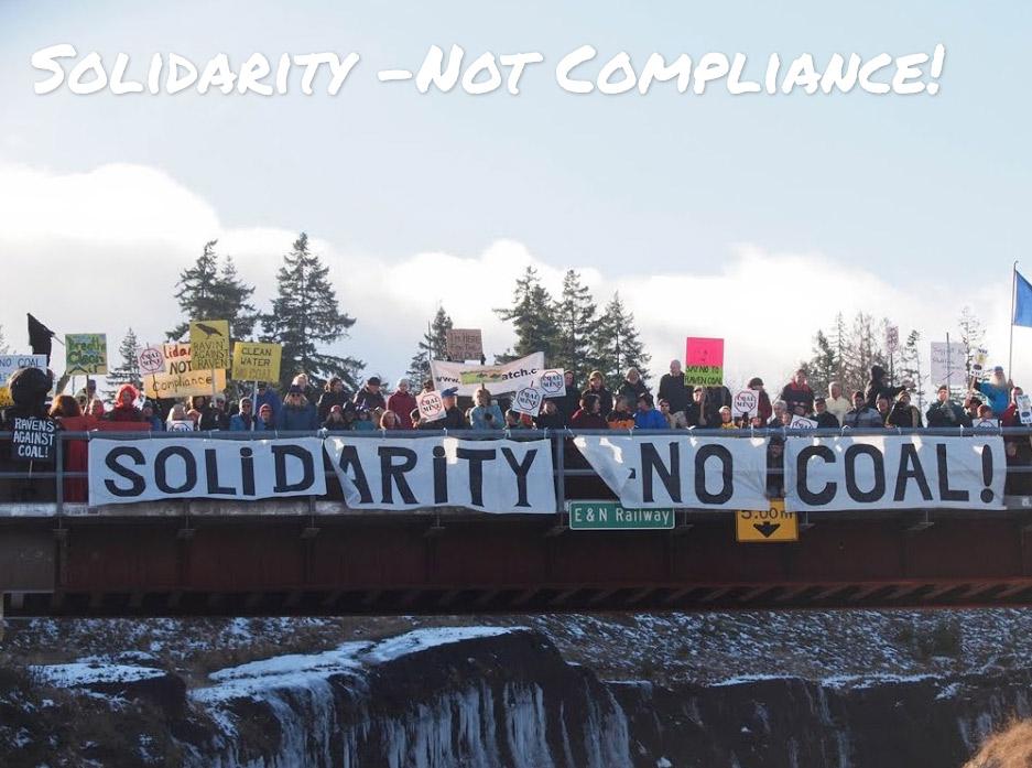 Denman Island No-Coal Solidarity