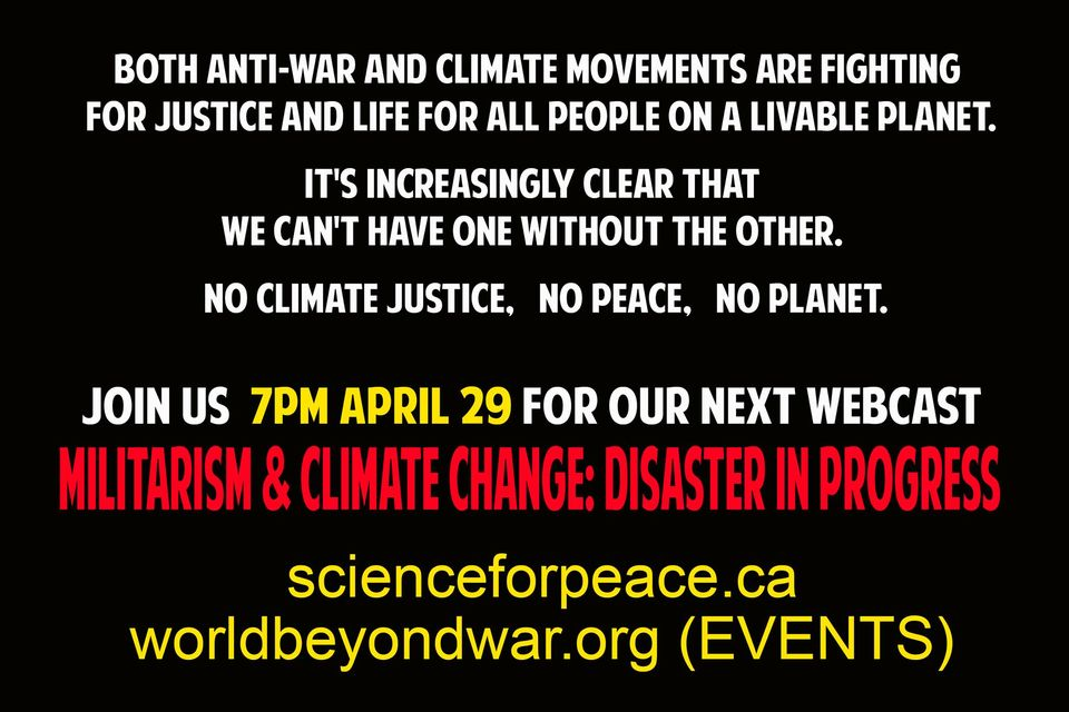 Militarism and Climate Change