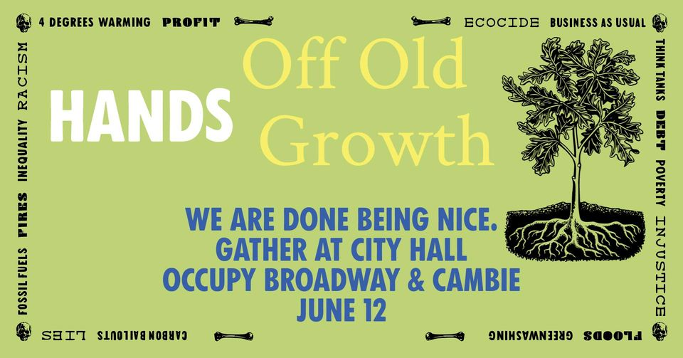 Hands Off Old Growth